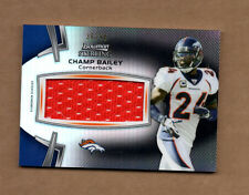 2012 Bowman Sterling Black Refractors #BSJVRCB Champ Bailey Jersey Card 36/50