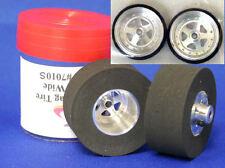 "JDS ""SoftCore"" .500 Custom Drag Tires - Rear & Front Drag 1/24 Slot Car Tires"