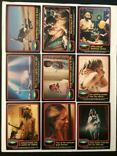 1978 Topps Close Encounters Of The Third Kind Nm 66 Card Set Plus 11 Sticker Set