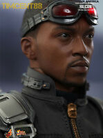 Hot Toys MMS245 Captain America Winter Soldier: Falcon Anthony Mackie 1/6 Figure