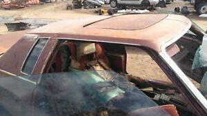 1973 1977 Chevrolet Monte Carlo sky roof w vinyl top Very Rare moonroof  A-body