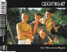 CAUGHT IN THE ACT - Let this be love CDM 4TR (HKM BENELUX) 1995 Europop