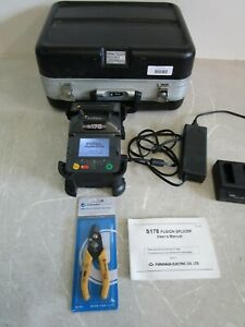 FITEL S178A Fusion Splicer in Carry Case With Power Adapter & User's Manual