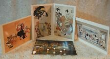 6 Utamaro & 2 Japanese Print and 1 Peacock Room Print Postcards NEW Made in USA