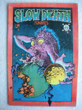 SLOW DEATH  #1  FN-/FN  (1st Printing)  Irons, R. Crumb  LAST GASP