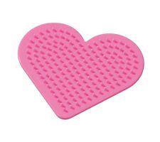 Perforado 9 Cm Diseños de corazón para Hama Beads Plástico fácil actividad artesanal Kids