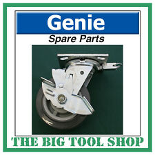 Genie SLA Material Lift Braked Swivel Castor 57740 Brake Spare Part Caster Wheel