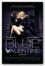 DRAMA MOVIE POSTER Blue Valentine Movie Poster Ryan Gosling Michelle Williams