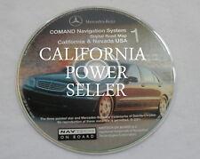 01 2002 03 2004 MERCEDES C230 C240 C280 C320 NAVIGATION ROAD MAP DISC CD 1 CA NV