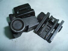M1 CARBINE MILLED ADJUSTABLE REAR SIGHT , WWII