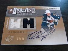 2009-10 SPX Winning Materials Ilya Kovalchuuk Autograph / Jersey Card B26) 34/50