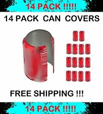 14 HIDE A BEER CAN COVERS SODA SLEEVES TAILGATE COVER  DISGUISE CAMO WRAP