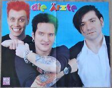 DIE ÄRZTE - XL Poster + ´NSYNC - 90er Jahre rare vintage 90s Boyband ca. 58 x 47