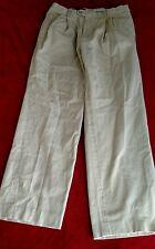 Bobby Jones Collection Men's Beige Khaki Golf Pants Size 34