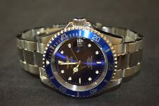 Invicta Pro Diver Silver Stainless Steel Blue Dial Men's Watch 90940B