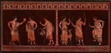 Décoration Danse Musique Antiquité Art Etrusque Hamilton Hancarville gravure 18e