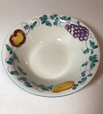 New ListingFruittie Tabletops Unlimited Round Serving Bowl Vegetables 9 3/8 Colorful