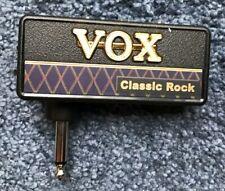 Vox Classic Rock Amplug Guitar Headphone Amp - Used - Excellent Condition!