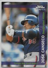 1999 Sports Illustrated #83 Jose Canseco Toronto Blue Jays Tampa Bay Devil Rays