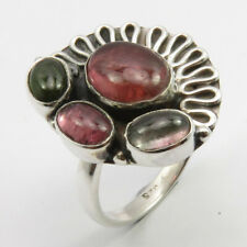 Size 5.5 New Jewelry 925 Solid Silver Tourmaline Ring