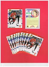 1990-91 Score Hottest/Rising Stars Lot of (25) #31 Jeremy Roenick! Blackhawks