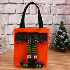 Funny Halloween Bags Witch Doll Candy Bag Creative Trick or Treat BagOrange+%