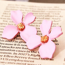 Korea Style Wild Earrings Flower Pendant Stud Earrings Women Elegant Jewelry CB