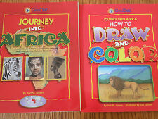 Journey into Africa set (Curriculum Guide/How to Draw & Color)