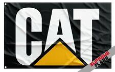 Caterpillar CAT Flag Banner Inc Company Machinery Engines Trucks Diggers Black