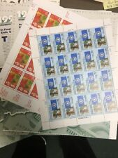 Water Activated Sheets Postage Stamps. Nice Assortment $500.00 Face Value.