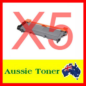 5x TN2350 HY COMP Toner for Brother HL-L2305W HL-L2340DW HL-L2365DW HL-L2380DW