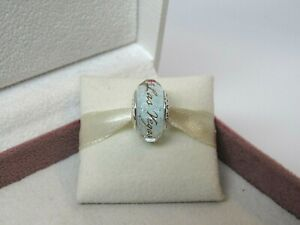 New Pandora Las Vegas Vegas Star White Murano Bead Charm ONLY 1 on eBay!