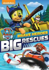 PAW Patrol: Brave Heroes Big Rescues [DVD Movie, Region 1, Bilingual Family] NEW