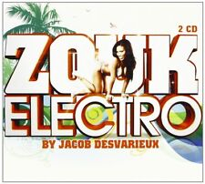 CD NEUF scellé - ZOUK ELECTRO by JACOB DESVARIEUX / Edition Digipack 2 CD -C67