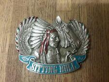 Red Indian Boucle de ceinture Western Sitting Bull