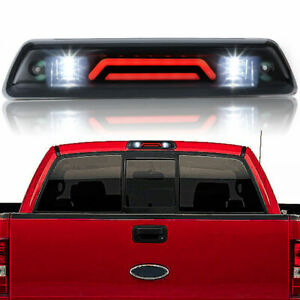 Smoke Rear Roof 3rd Brake Cargo LED Tail Light Lamp For Ford F-150 F150 09-14