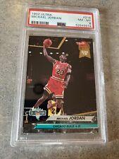 1992-93 Fleer Ultra #216 Michael Jordan Chicago Bulls HOF PSA 8 NM-MT