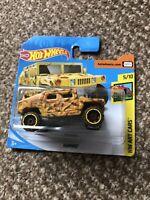 Hot Wheels 2020 Humvee *161/250 HW Art Cars *3/10 GHC17 Yellow
