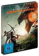 Monster Hunter [3D & 2D Blu-ray Steelbook/NEU/OVP] Fantasy-Action/Milla Jovovich