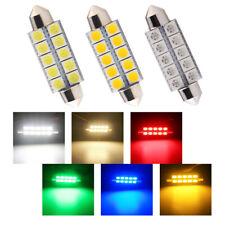 10Pcs 44mm C5W Festoon 5050 10SMD LED Interior Door Cargo/Trunk Dome Light Bulbs