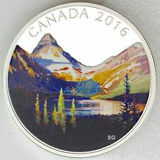 2016 $20 Canadian Landscape Series: The Lake - 1 oz 99.99% Pure Silver Proof