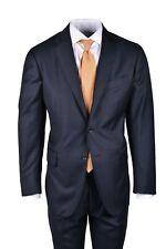 New $4K Stile Latino (Attolini) handmade suit US 42 EU 52 navy solid wool