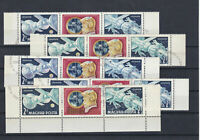 Hungary 1969 SpaceFlights Used Stamps Ref: R6993