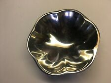 "Nambe 604 Tulip Aluminum Bowl 6-3/4"""
