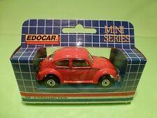 EDOCAR EM-8 VW VOLKSWAGEN BEETLE KAFER - RED  1:50? - NEAR MINT IN BOX