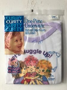 vintage curity one piece underwear hugga bunch diaper cover size large 1985 NOS