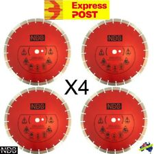 "4X 14"" 356mm Laser Welded Diamond Saw Blade Demo Concrete Masonry Brick FASTPOST"