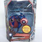 Marvel Avengers Captain America 2 Channel Flying Figure Infrared Helicopter  NEW