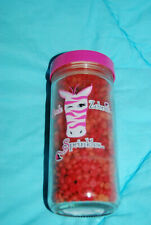 Pink Zebra Sprinkles Jar Fresh Caramel Apple 3.75 oz New