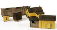 HO SCALE BANTA MODEL WORKS #2155 Rico Outbuildings, includes 5 buildings